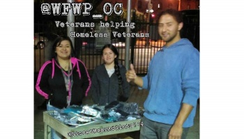 "Free Fundraiser Photo for ""Vets helping Homeless Vets."""