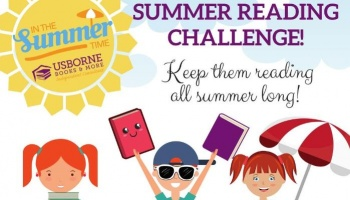 "Free Fundraiser Photo for ""Summer Reading Challenge"""