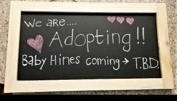 "Free Fundraiser Photo for ""Help us Adopt Baby Hines!"""