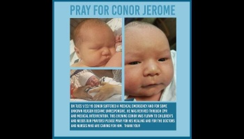"Free Fundraiser Photo for ""Support Conor Jerome"""