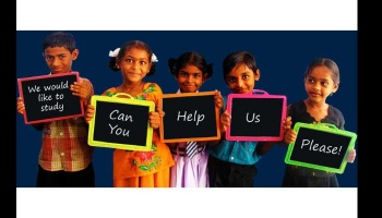 "Free Fundraiser Photo for ""Education for Underprivileged"""