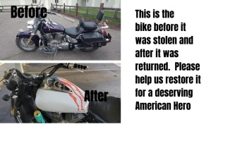 "Free Fundraiser Photo for ""Motorcycle pay forward"""