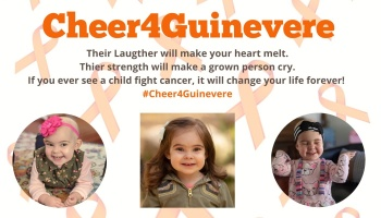 "Free Fundraiser Photo for ""Cheer4Guinevere"""