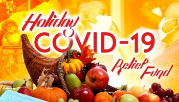 "Free Fundraiser Photo for ""Holiday Covid-19 Relief"""
